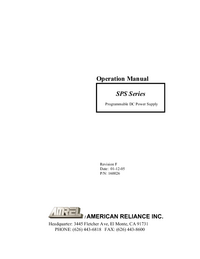 AMREL-9663-Manual-Page-1-Picture