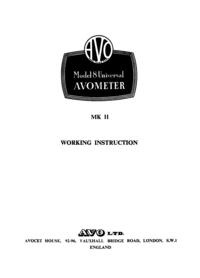AVO Model 8 MK II