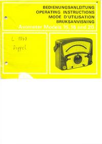 AVO Avometer 16