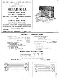 AWA Radiola 453-P