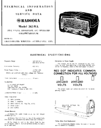 AWA RADIOLA 565-MA