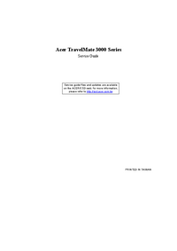 Acer TravelMate 3000 Series