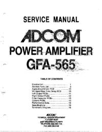 Adcom GFA-565