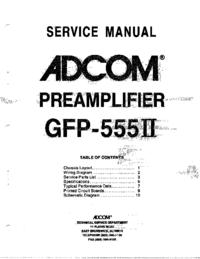 Adcom GFP-555II
