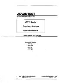 Advantest R4131D