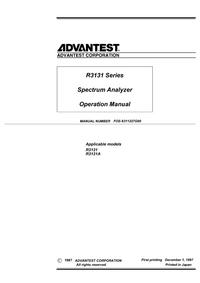 Advantest R3131A