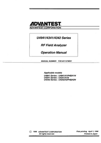 Advantest U4341