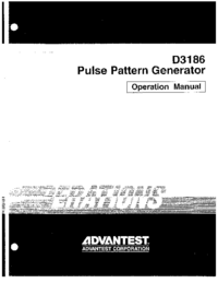 Advantest D3186