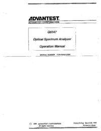 Advantest Q8347