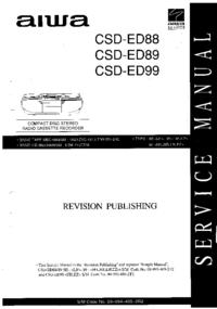 Aiwa CSD-ED89