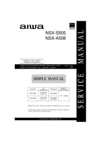 Aiwa SX-NA502
