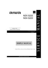 Aiwa NSX-S222