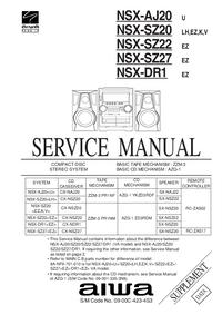 service manual aiwa cx naj20 download your lost manuals for free rh lost manuals com