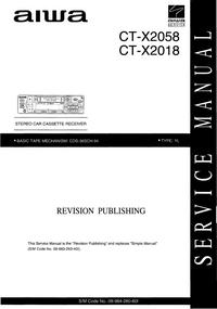 Aiwa CT-X2058