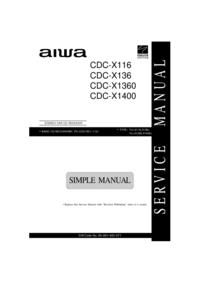 Aiwa CDC-X1360