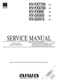 Aiwa HV-GX915