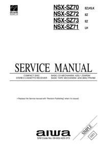Aiwa NSX-SZ73 EZ