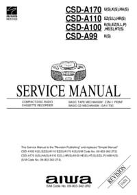 Aiwa CSD-A170 K(S)