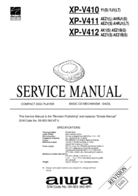 Aiwa XP-V412 AK1(S)