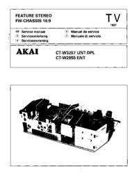 Akai CT-W3257