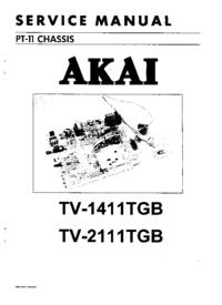 Akai TV-2111TGB