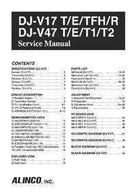 Alinco DJ-V17 E