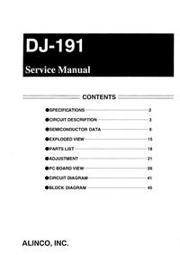 Alinco DJ-191