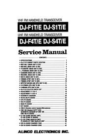 Alinco DJ-S1T