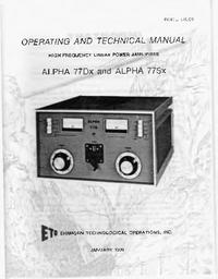 Alpha ALPHA 77Sx