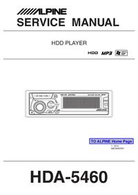 Alpine HDA-5460