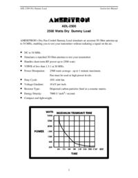 Ameritron ADL-2500