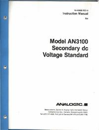 Analogic AN3100