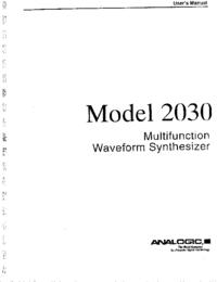 Analogic 2030
