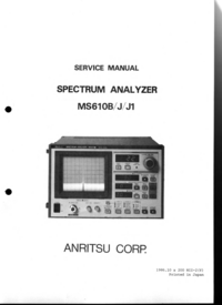 Anritsu MS610J