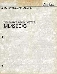 Anritsu ML422B