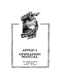 Apple Apple 1