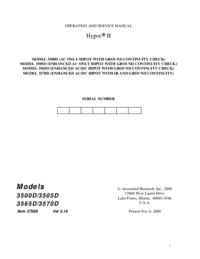 AssociatedResearch Hypot II 3570D