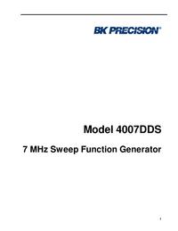 BKPrecision 4007DDS