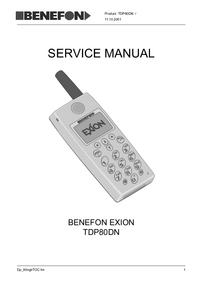 Benefon Exion TDP80DN