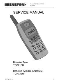 Benefon Twin DS TGP73EU