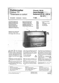 Blaupunkt CTV 7053 SP 45 Stereo Color
