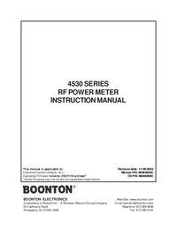 Boonton 4530 Series