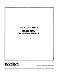 Boonton 9200A