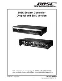 Bose 802C