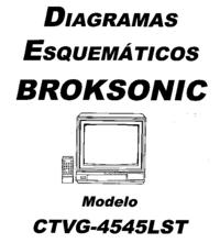 Broksonic CTVG-4545LST