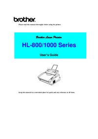 Brother HL-1000 Series