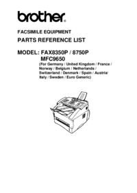 Brother Fax8750P