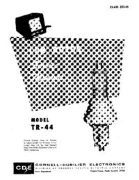 CDE TR-44