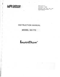 CaliforniaInstruments 501TC