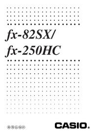 Casio fx-82SX/